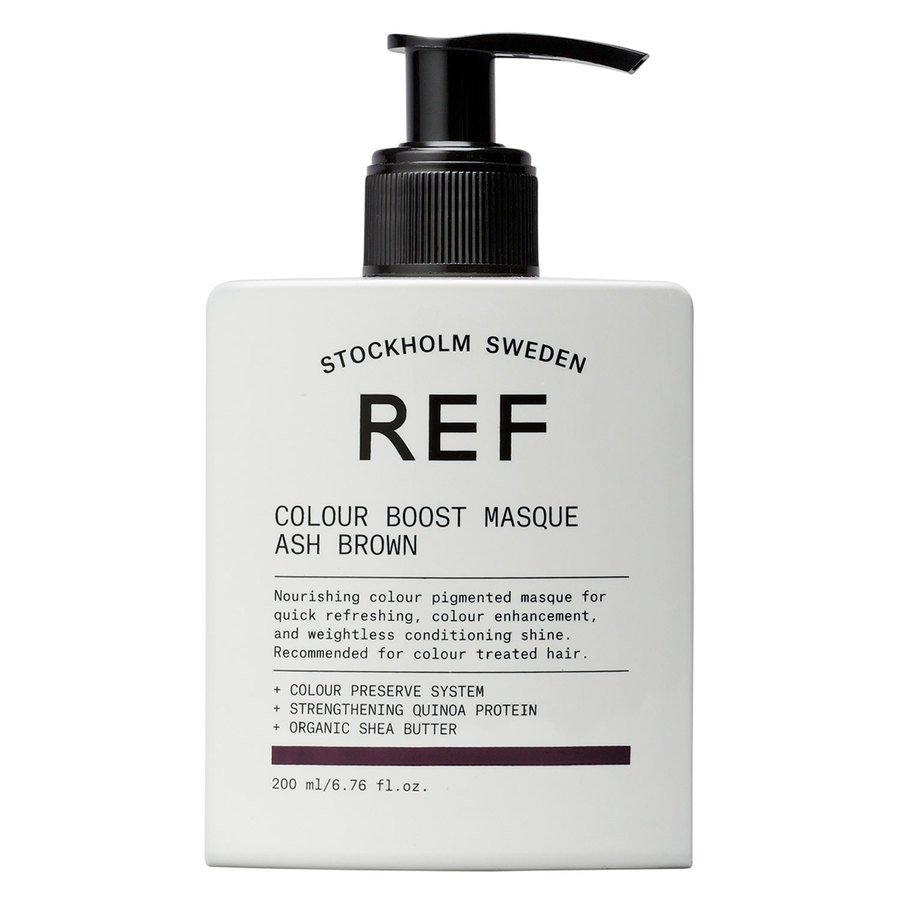 REF Color Boost Masque Ash Brown (200 ml)