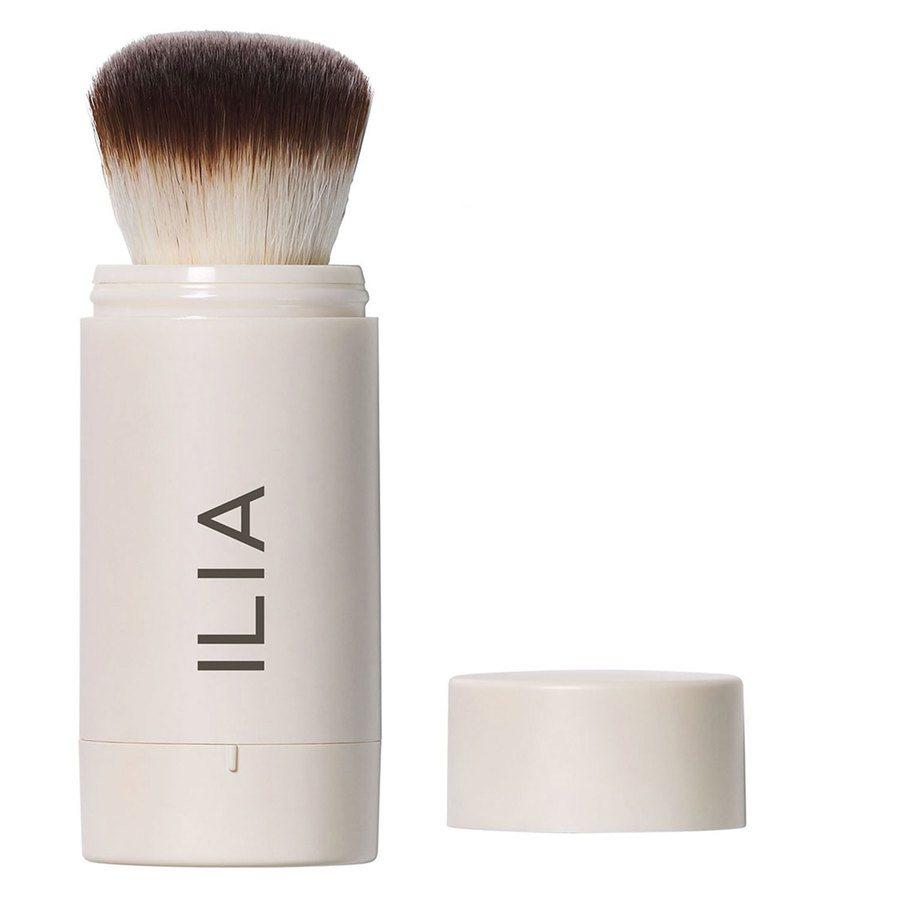 Ilia Radiant Translucent Powder SPF20 Moondance Flow-Thru Powder Brush 2,3g