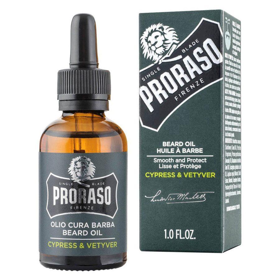 Proraso Beard Oil Cypress & Wettver (30 ml)