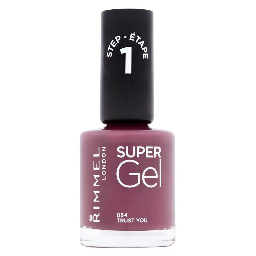 Rimmel London Super Gel Nail Polish (12 ml), # 054 Trust You