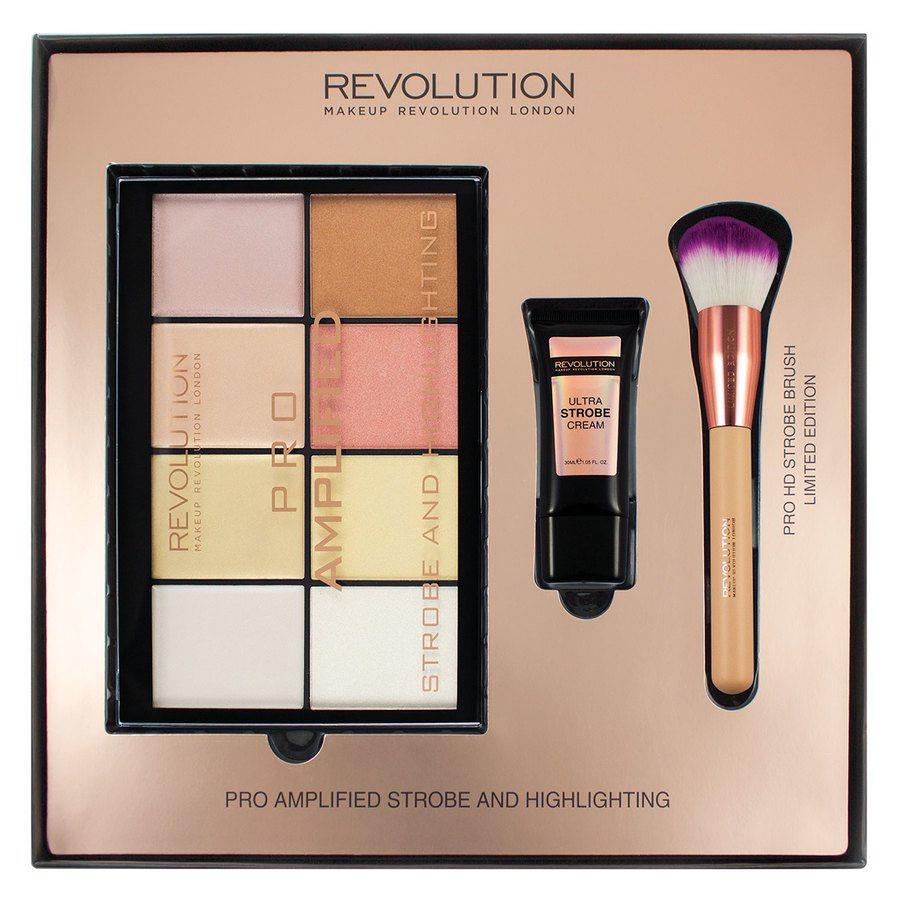 Makeup Revolution Amplified Strobe & Highlighting Zestawy Upominkowe