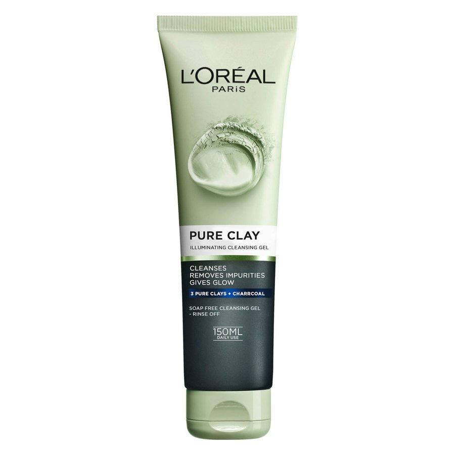 L'Oréal Paris Pure Clay Illuminating Cleansing Gel (150 ml)