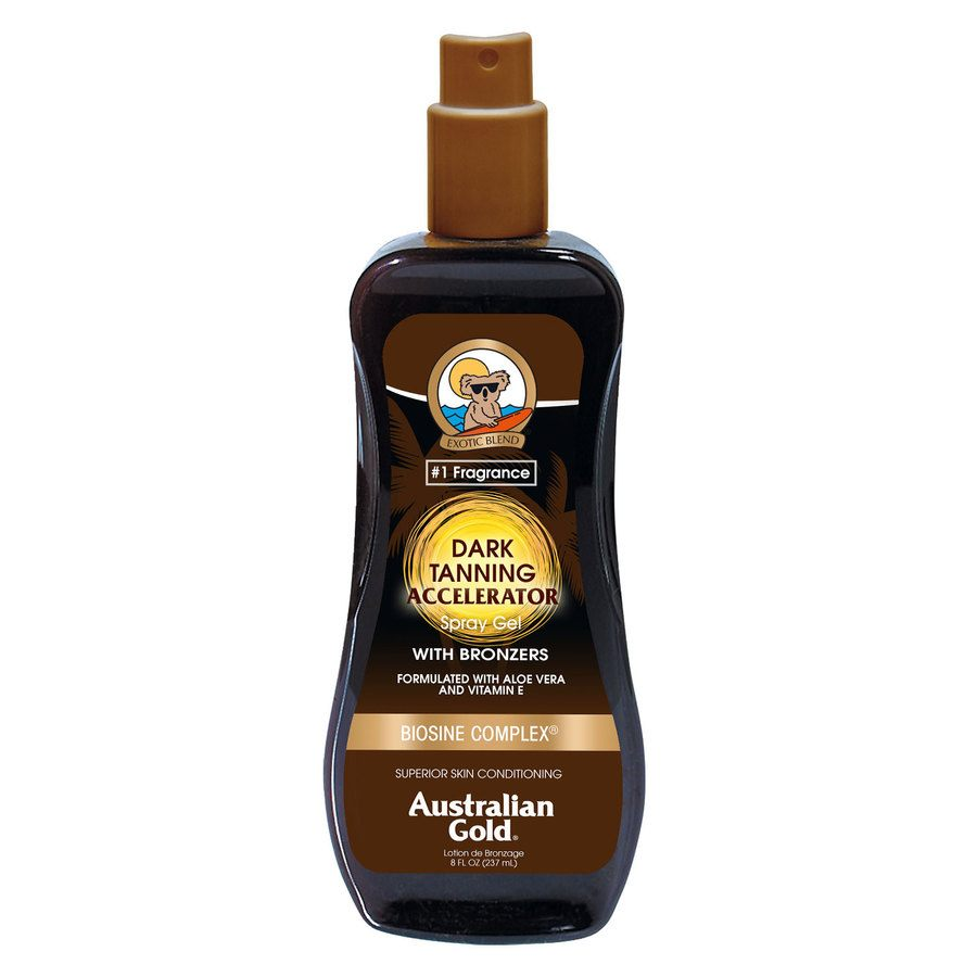 Australian Gold Dark Tanning Accelerator Spray Gel (237 ml)