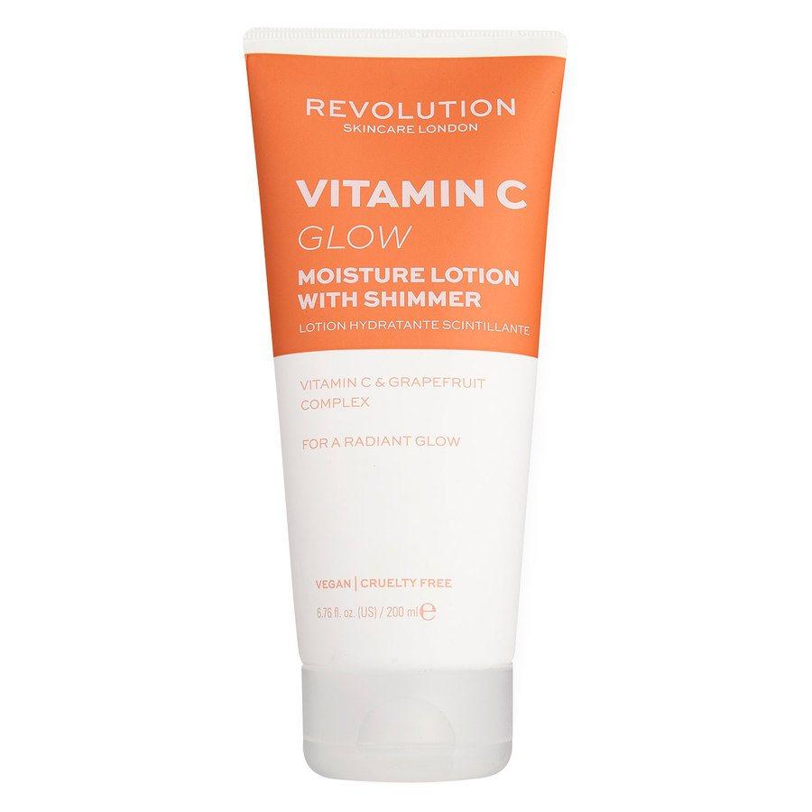 Revolution Body Skincare Vitamin C Shimmer Lotion 200ml
