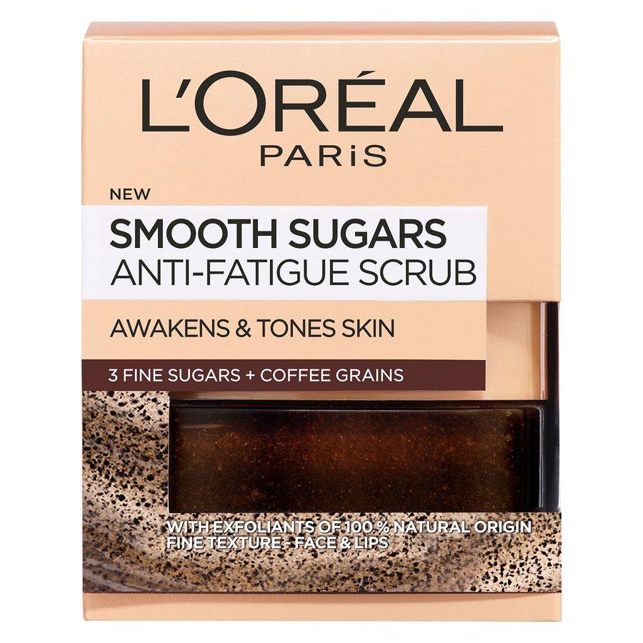 L'Oréal Paris Smooth Sugar Scrub Anti-Fatigue Coffee (50 ml)