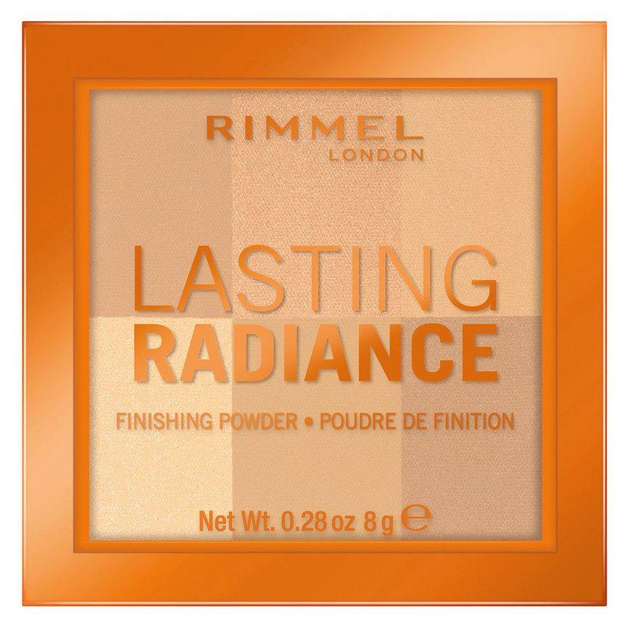 Rimmel London Lasting Radiance Powder (8g), #001 Ivory