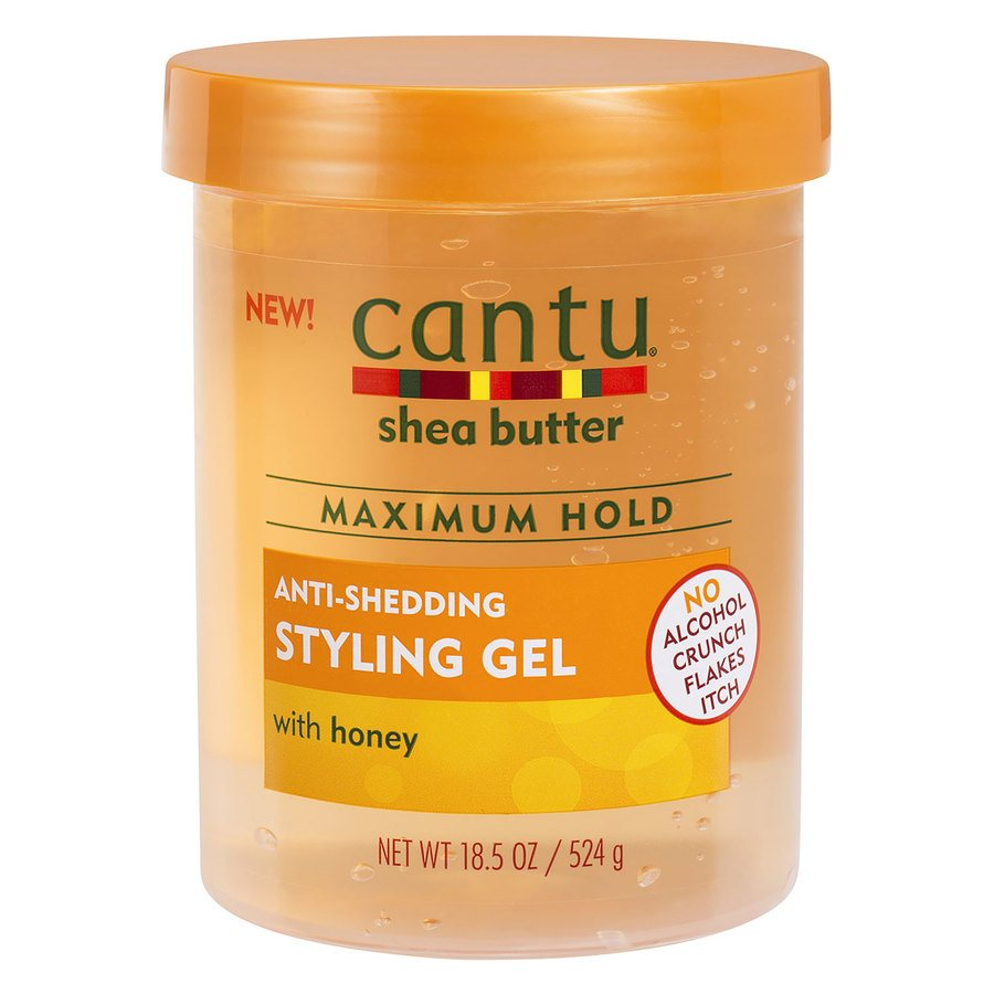 Cantu Shea Butter Maximum Hold Anti-Shedding Styling Gel 524g