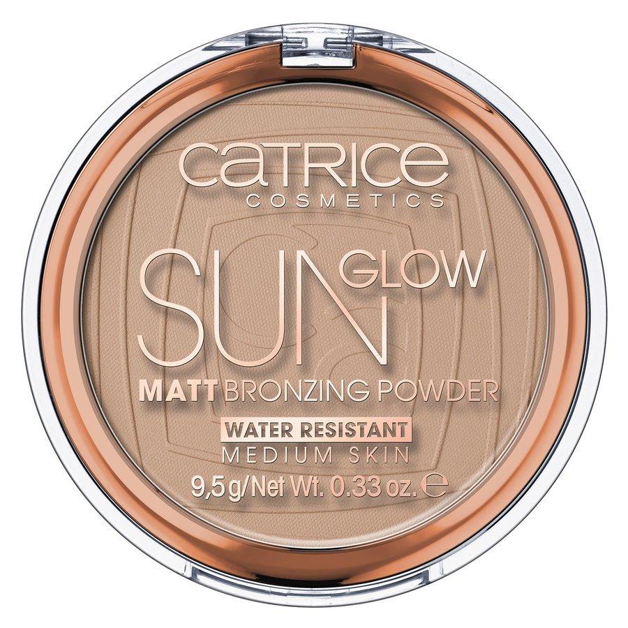 Catrice Sun Glow Matt Bronzing Powder 9,5g, 030 Medium Bronze