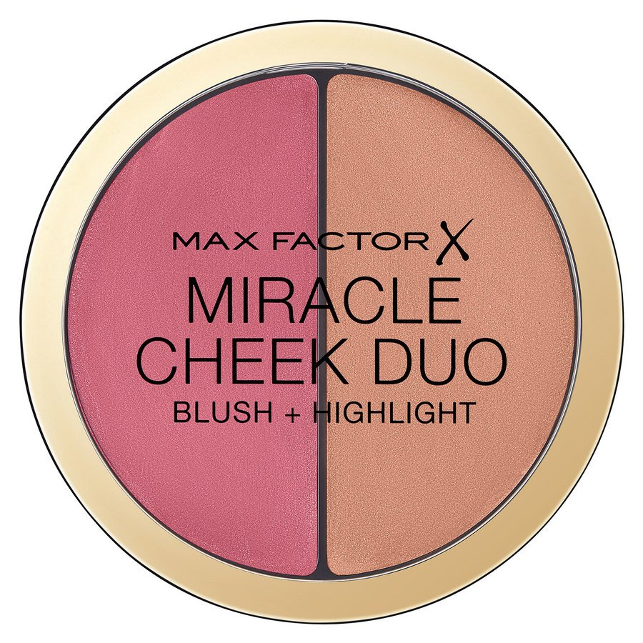 Max Factor Miracle Cheek Duo, Dusky Pink & Copper, (11 g)