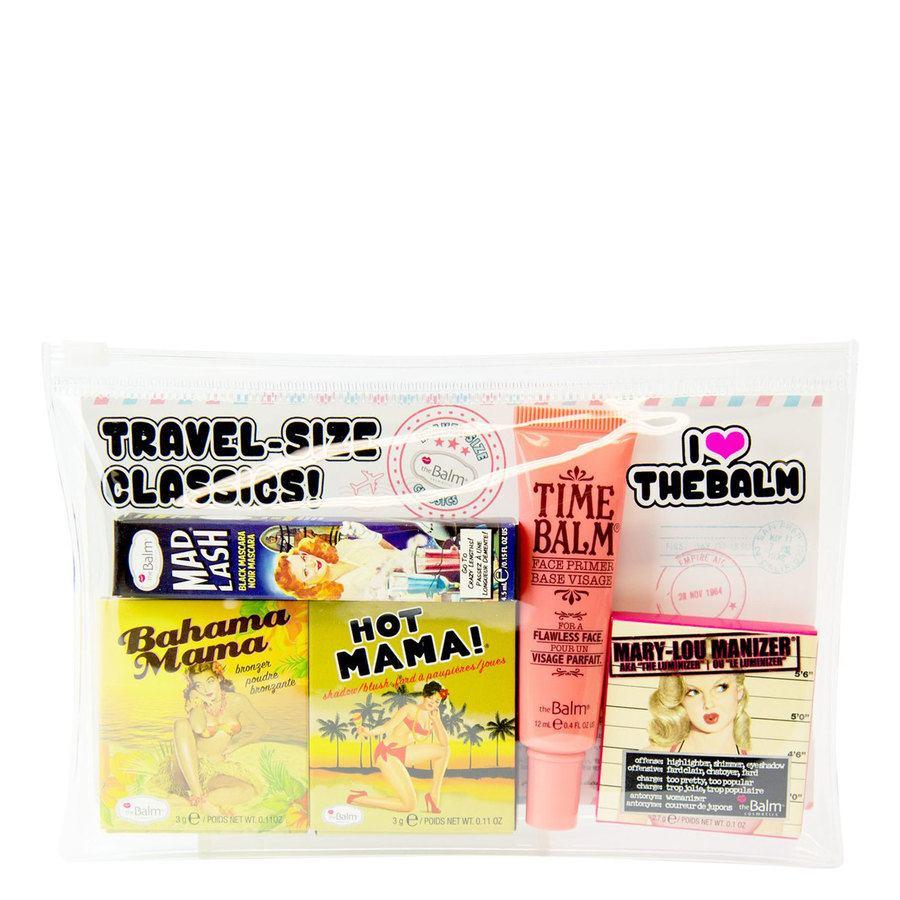The Balm Travel Set With Cosmetics Bag (5 sztuk)