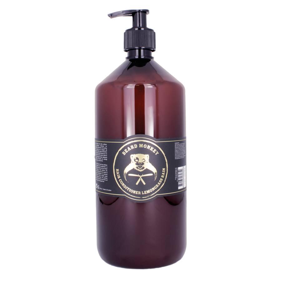Beard Monkey Hair Balsam, Lemongrass Rain (1000 ml)
