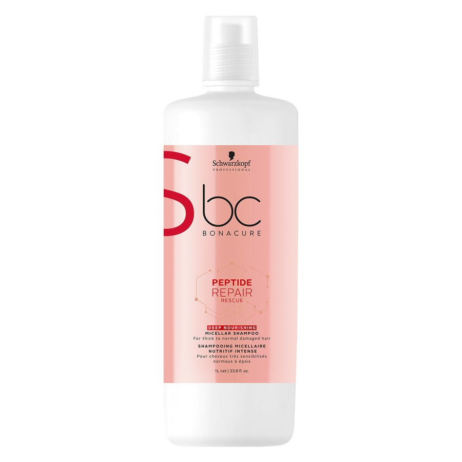 Schwarzkopf BC Peptide Repair Rescue Szampon Deep Nourishing (1000 ml)