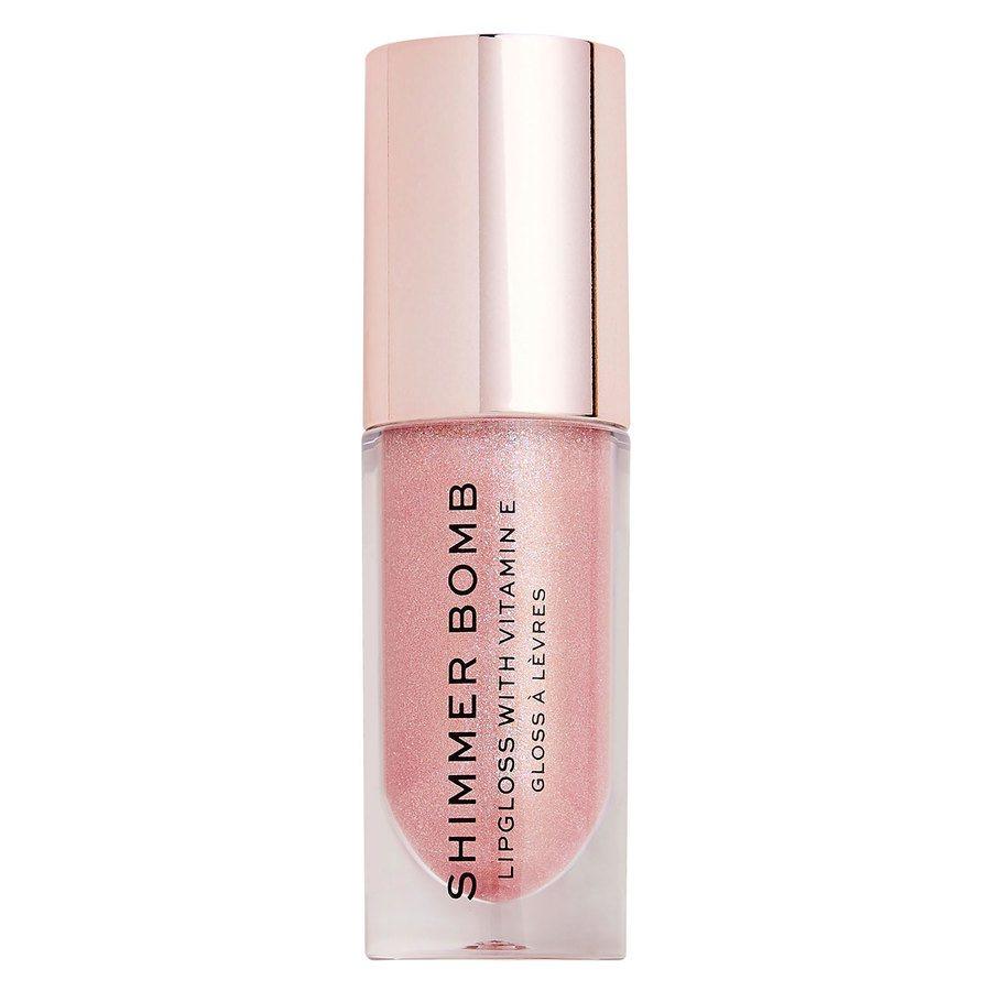 Makeup Revolution Shimmer Bomb Lip Gloss (4,5 ml) Glimmer