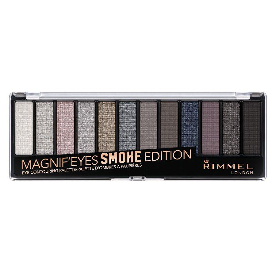 Rimmel London Magnif'eyes Eyeshadow Palette (14g), Smoke Edition