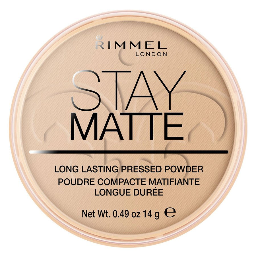Rimmel Stay Matte Pressed Face Powder, Sandstorm 004 (14 g)