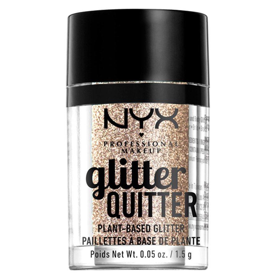 NYX Professional Makeup Glitter Quitter Plant Based Glitter Gold (1,5 g)