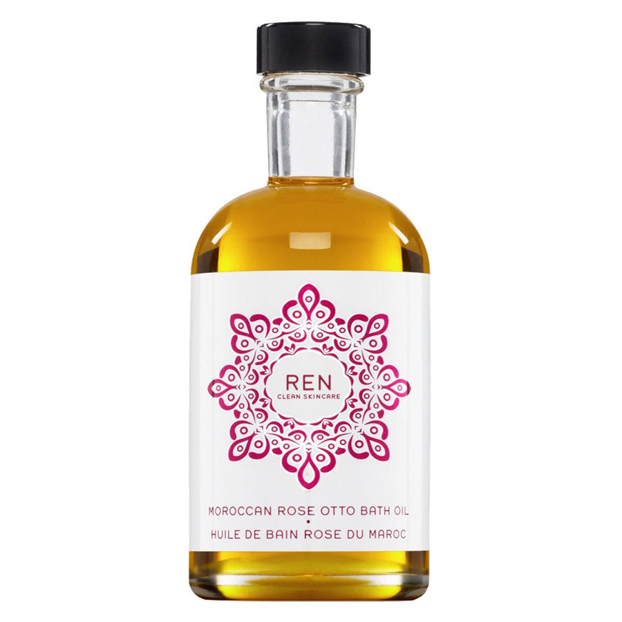 REN Clean Skincare Moroccan Rose Otto Bath Oil (110 ml)