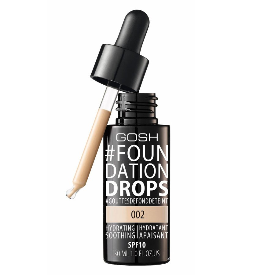GOSH Foundation Drops (30 ml), #002 Ivory