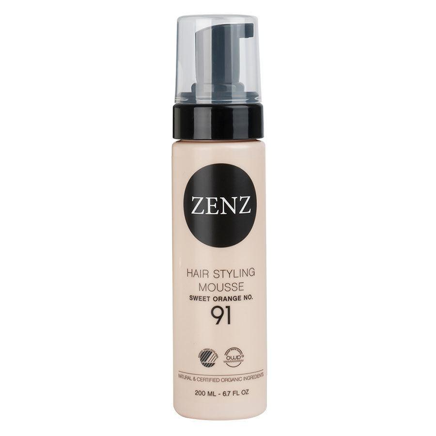 Zenz Organic No. 91 Hair Styling Mousse Extra Volume Sweet Orange 200ml