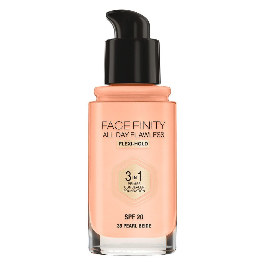 Max Factor Facefinity 3 In 1 Foundation (30ml), 35 Pearl Beige