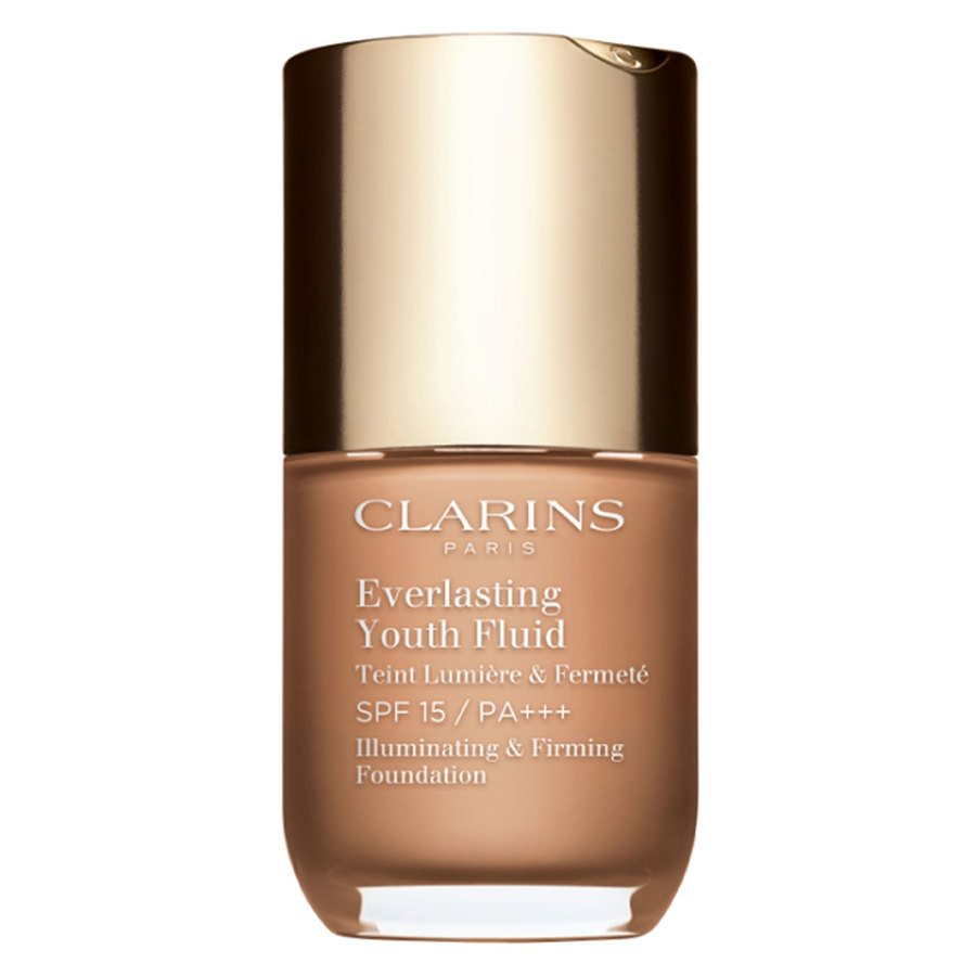 Clarins Everlasting Youth Fluid Foundation 112 Amber 30ml