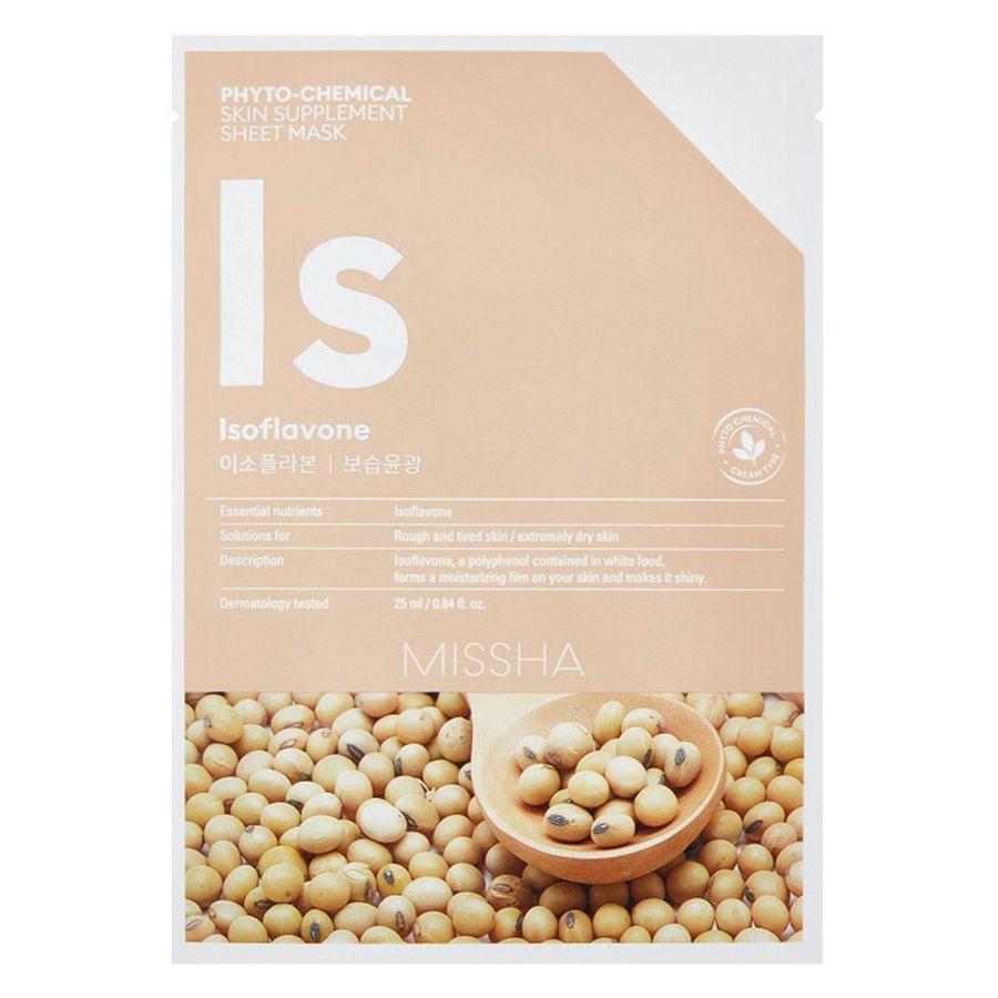 Missha Phytochemical Skin Supplement Sheet Mask Isoflavone (25 ml)