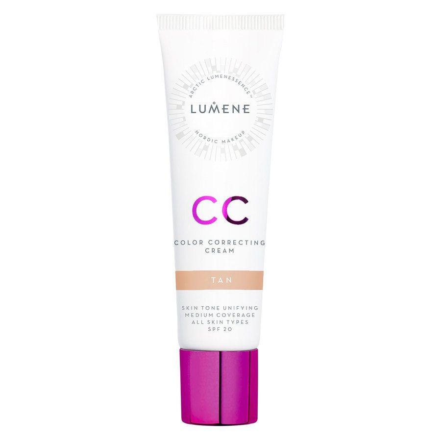 Lumene CC Color Correcting Cream Tan SPF 20 (30 ml)