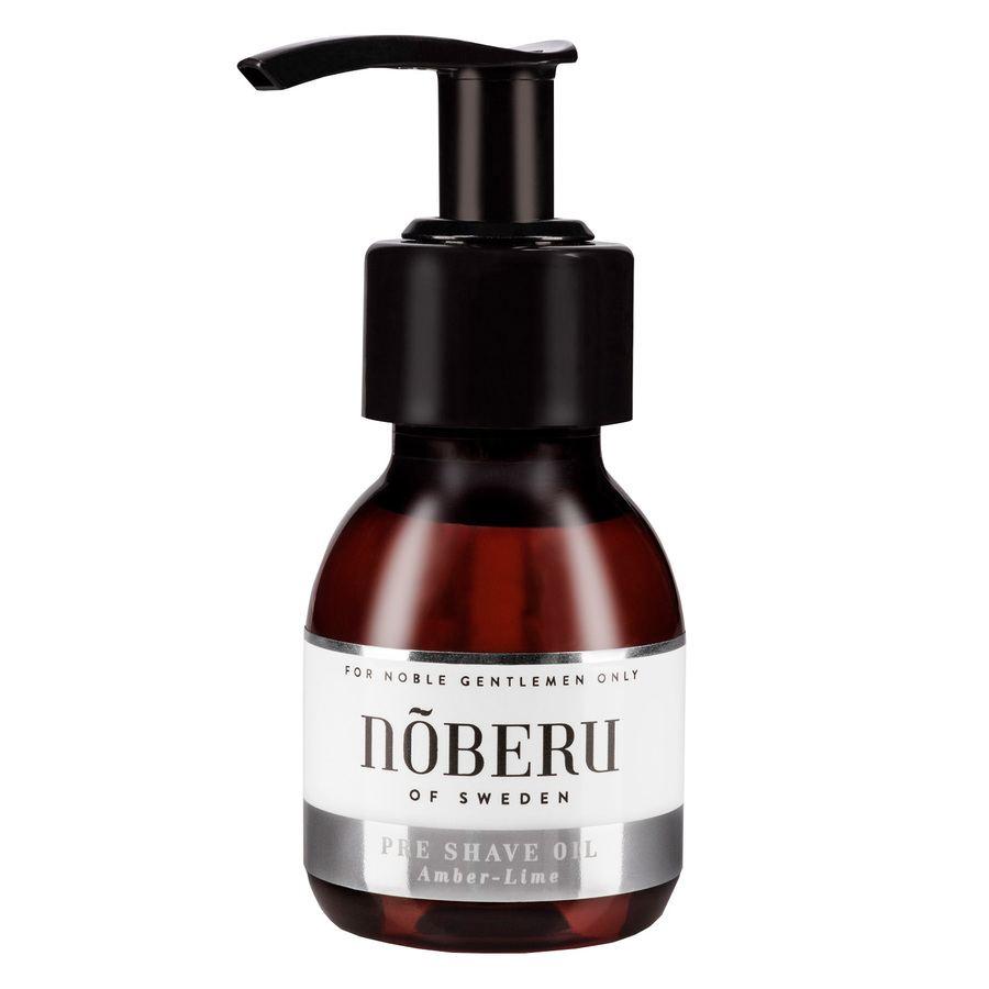 Nõberu of Sweden Pre-Shave Oil, Amber-Lime (60ml)