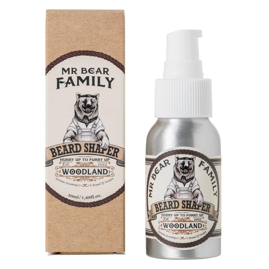 Mr Bear Family Beard Shaper Woodland 50ml