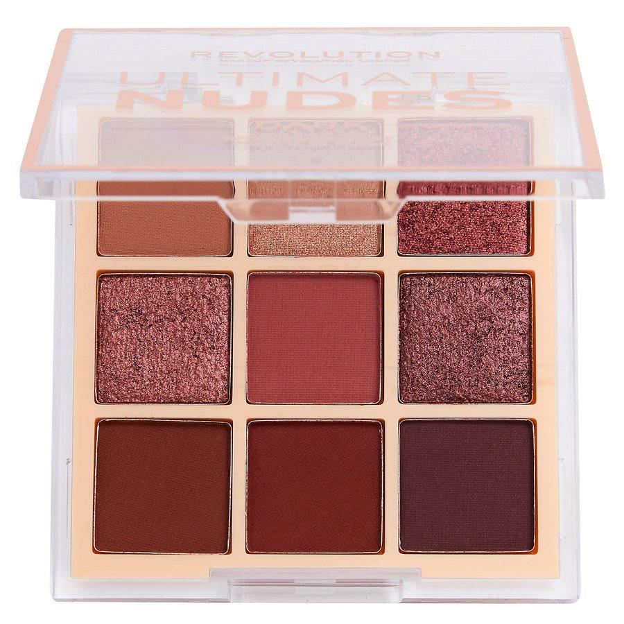 Makeup Revolution Ultimate Nudes Shadow Palette 6,8g, Dark