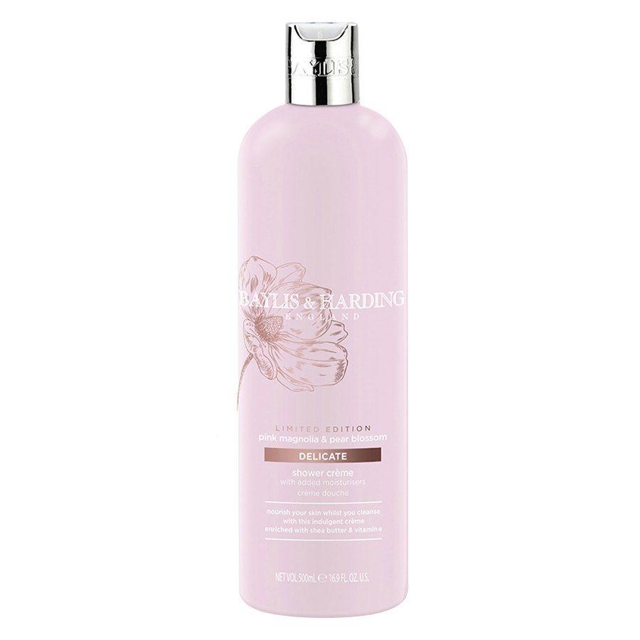 Baylis & Harding Pink Magnolia & Pear Blossom Moisturizing Shower Cream (500 ml)