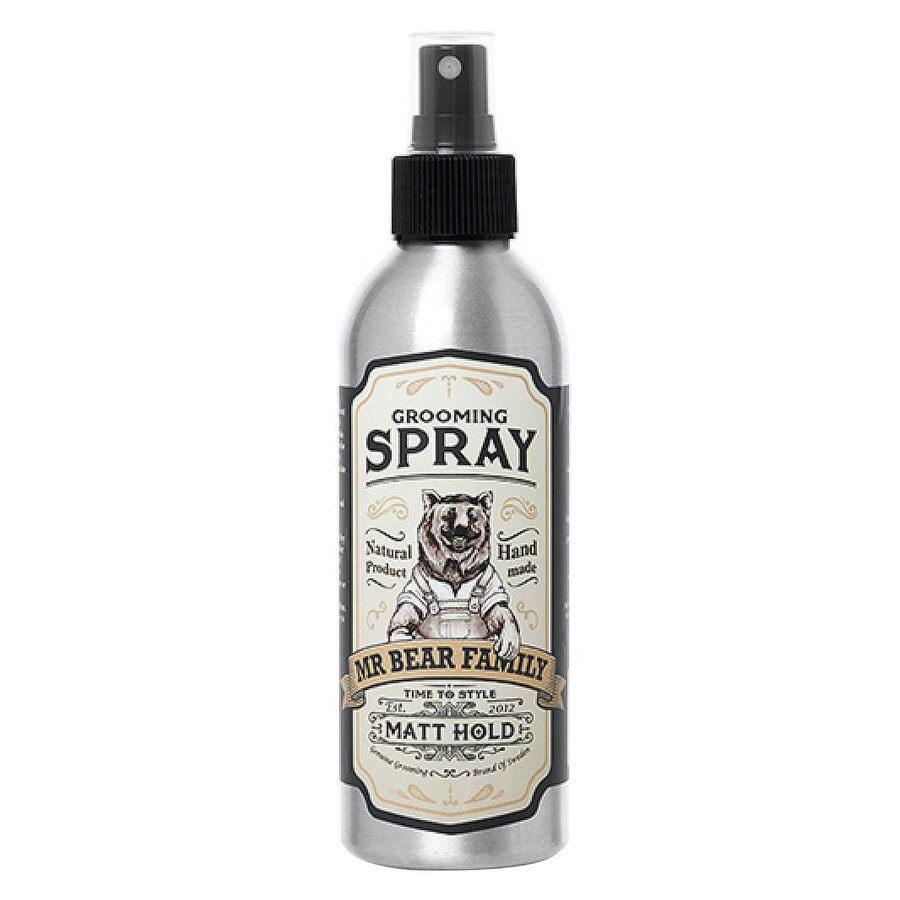Mr Bear Family Grooming Spray Matt Hold 200ml