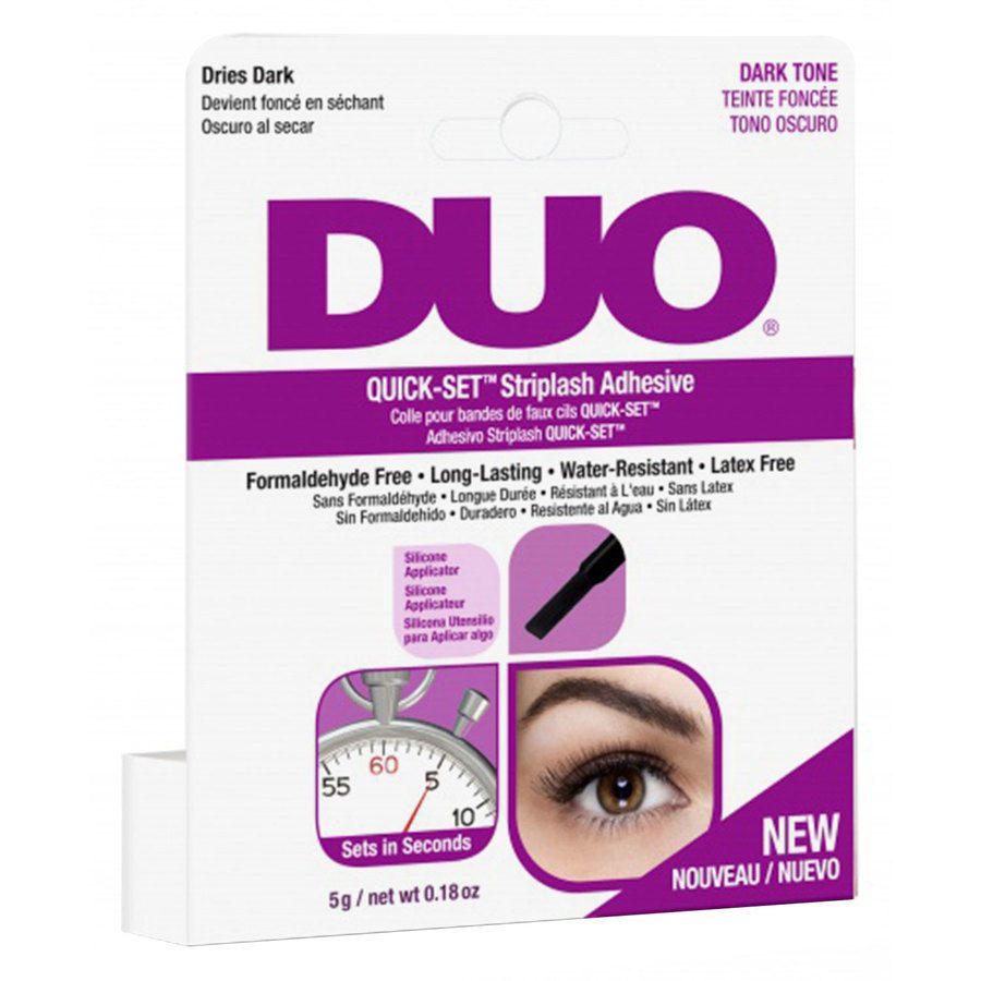 Duo Quick Set Adhesive Brush (5 g) ─ Dark