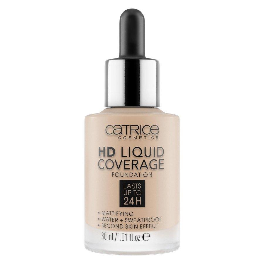 Catrice HD Liquid Coverage Foundation 30ml, 020 Rose Beige
