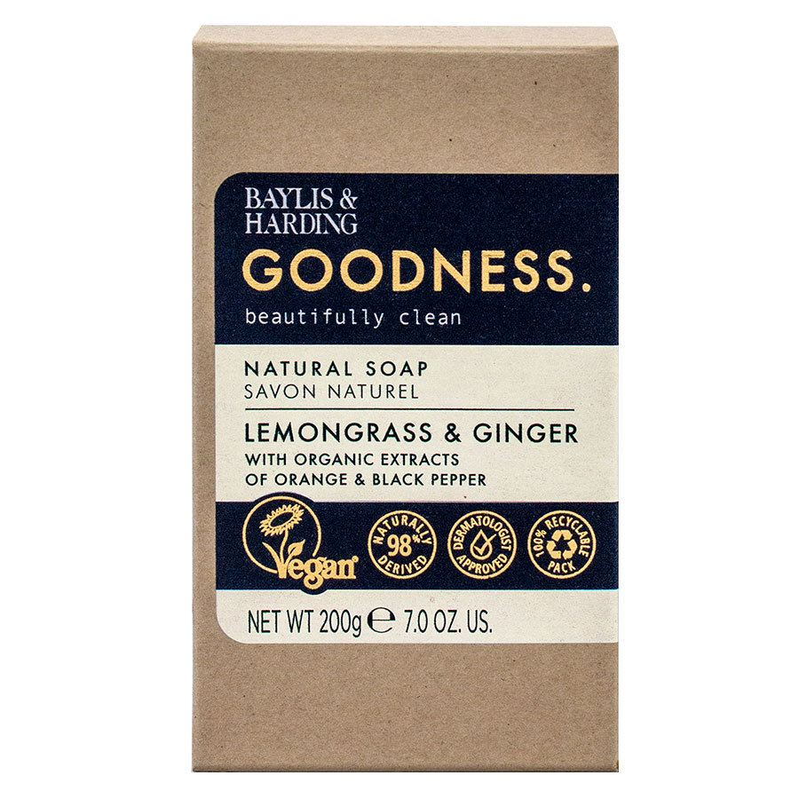 Baylis & Harding Goodness Lemongrass & Ginger Soap 200g