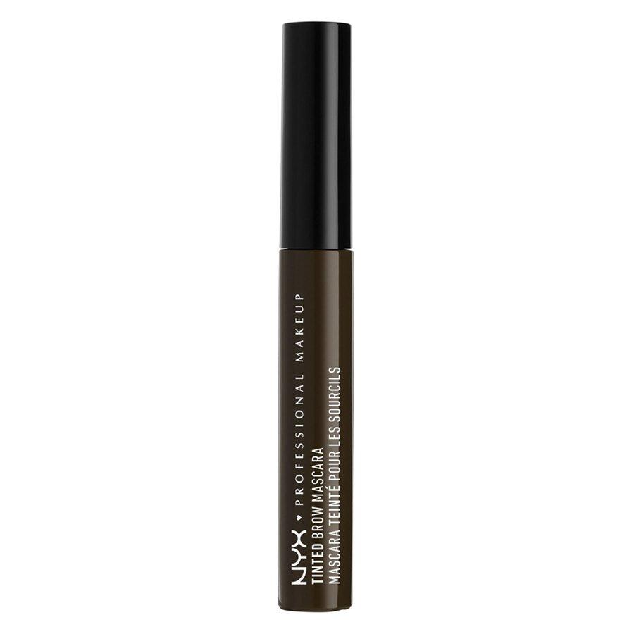 NYX Professional Makeup Tinted Brow tusz do brwi, czarny TBM05