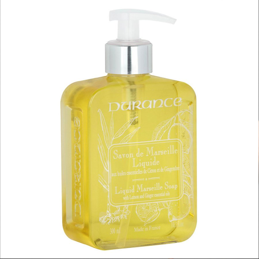Durance Marseille Liquid Marseille Soap With Lemon / Ginger (300 ml)