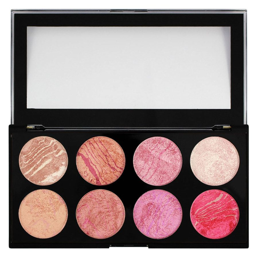 Makeup Revolution Blush Palette, Blush Queen (13 g)