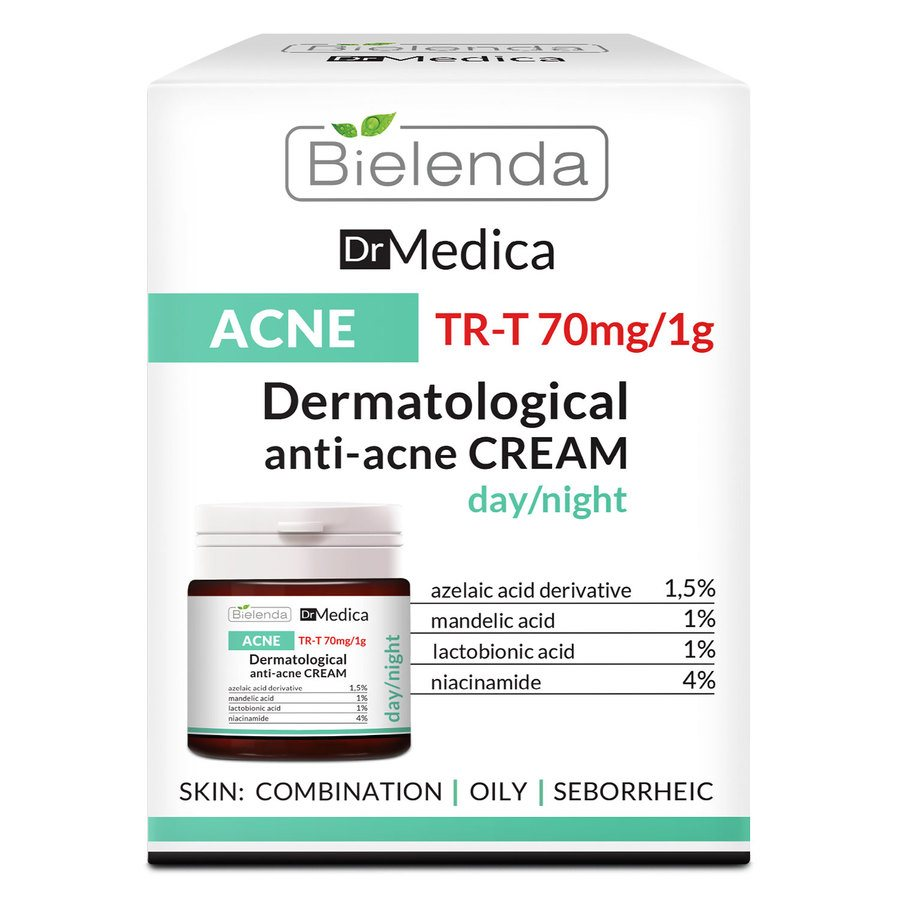 Bielenda Dr Medica Acne Dermatologic Anti-Acne Face Cream Day / Night 50 ml