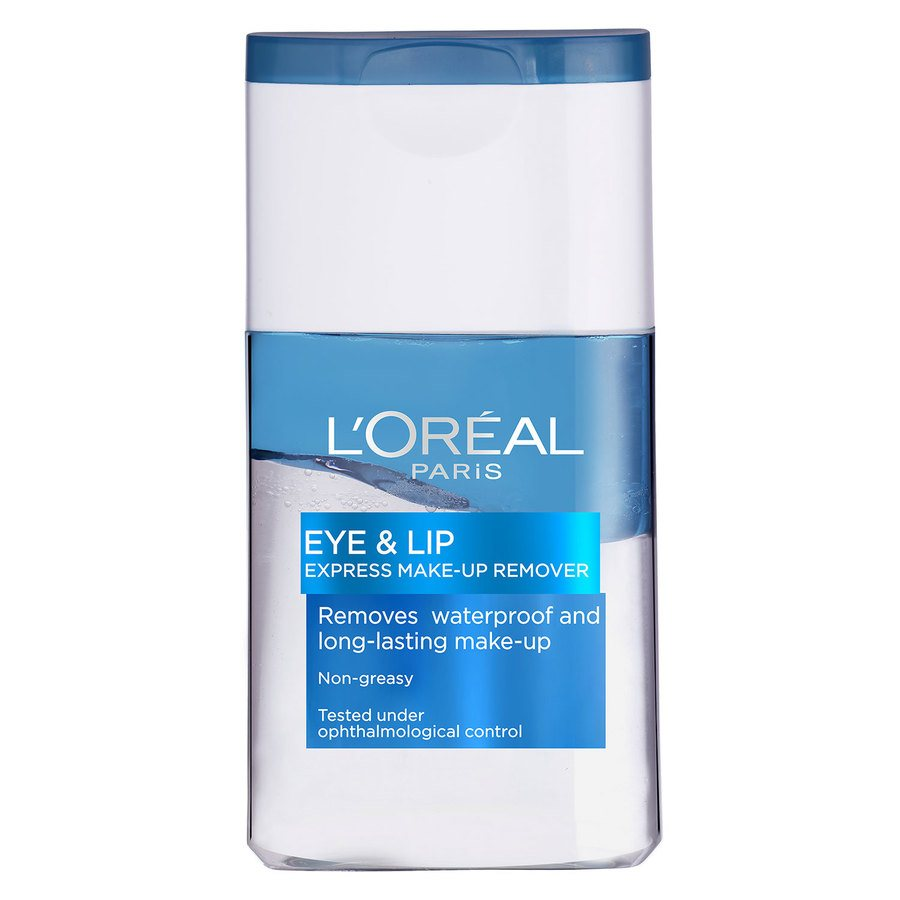 L'Oréal Paris Waterproof Eye and Lip Makeup Remover (125 ml)