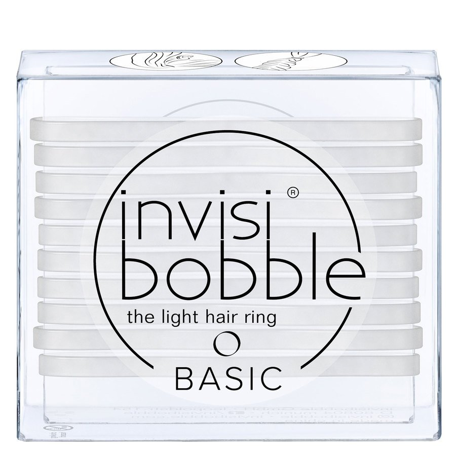Invisibobble Basic Crystal Clear 10 szt.