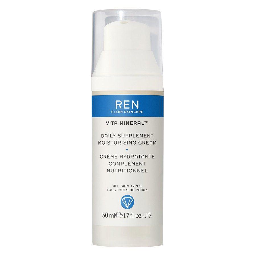 REN Clean Skincare Vita Mineral Daily Supplement Moisturising Cream (50 ml)