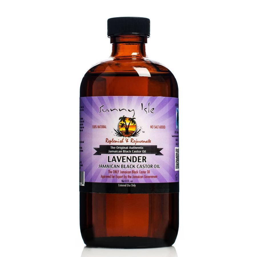 Castor Oil (236 ml). Sunny Isle Lavender Jamaican Black
