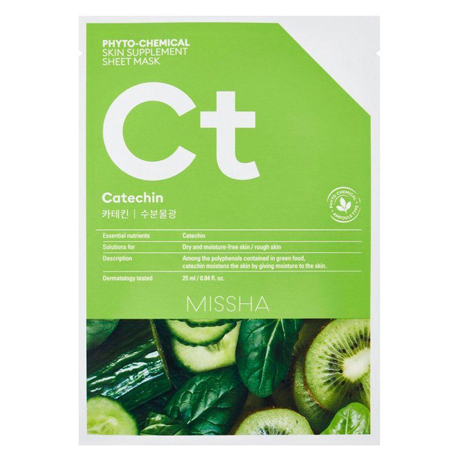 Missha Phytochemical Skin Supplement Sheet Mask Catechin (25 ml)