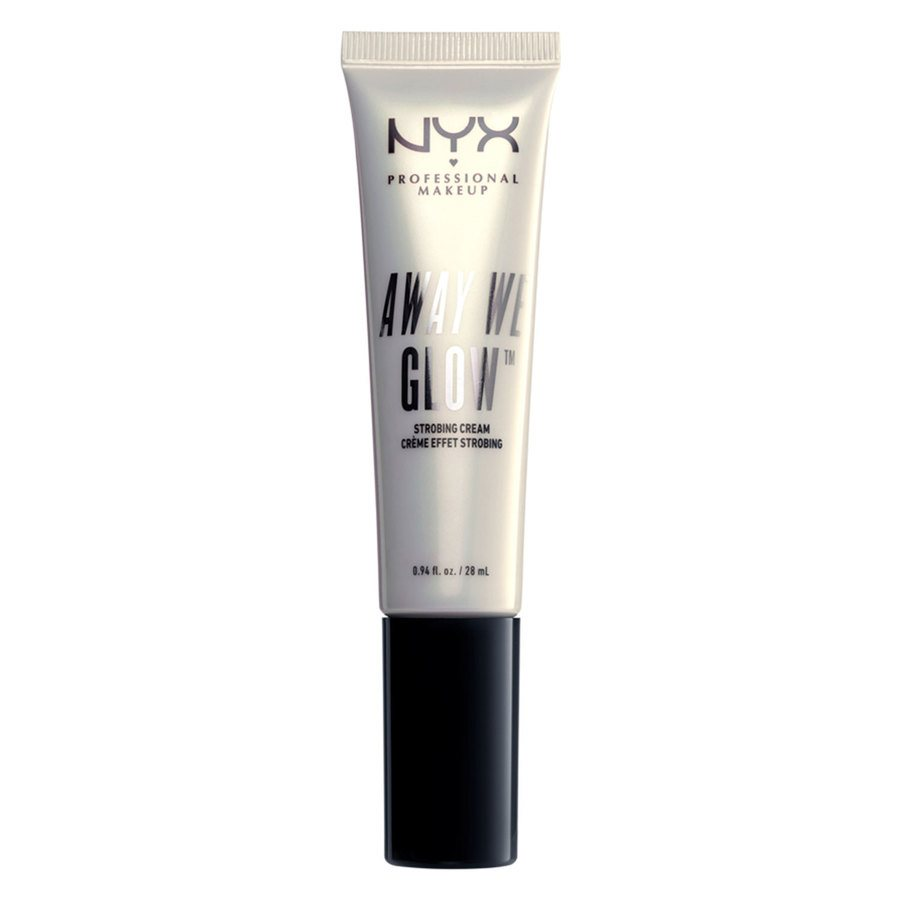 NYX Professional Makeup Away We Glow Strobing Cream, Shade 01 (28 ml)