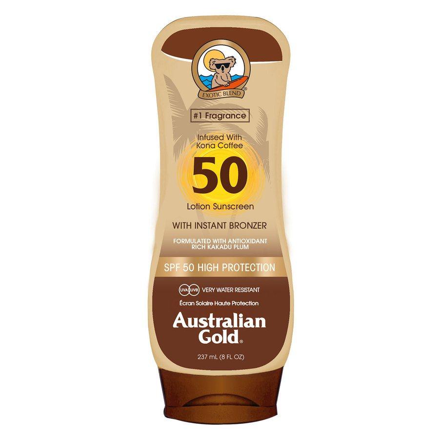 Australian Gold SPF 50 Lotion Bronzer (237 ml)