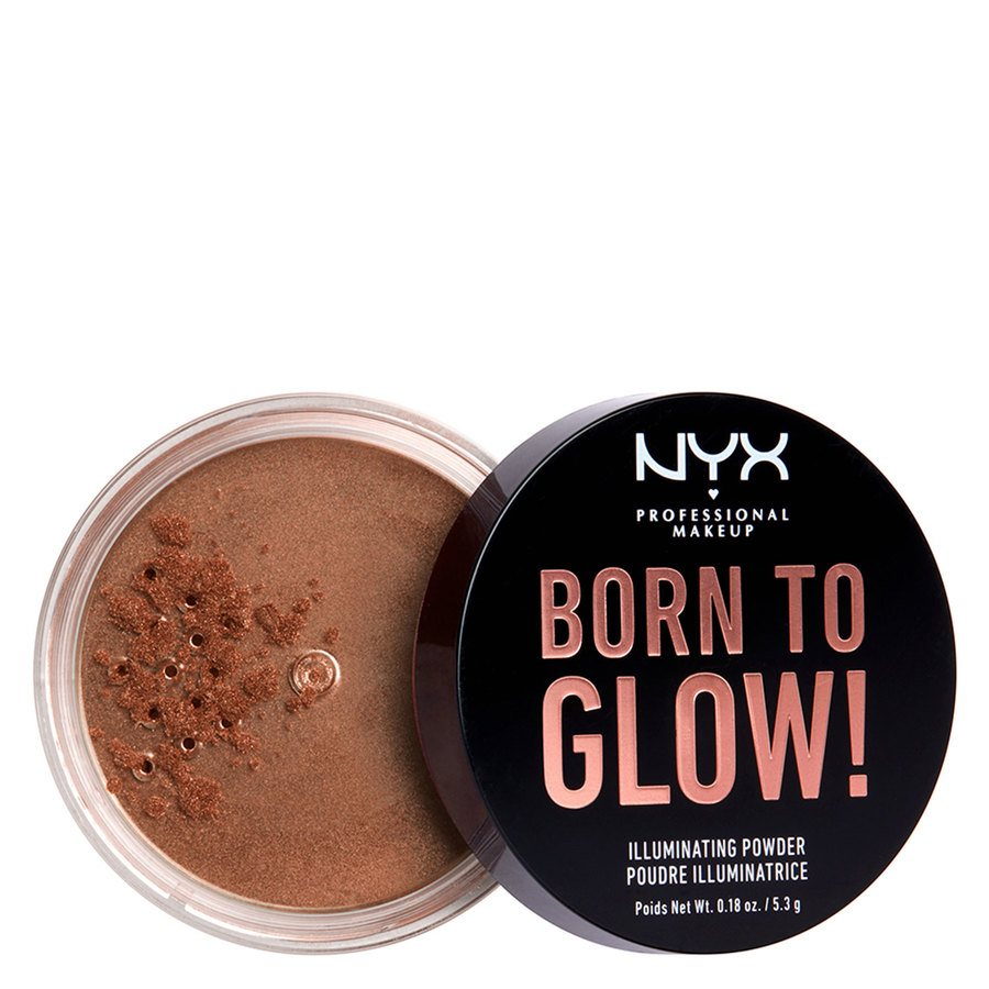 NYX Professional Makeup Born To Glow Illuminating Powder (5,3 g), Desert Night