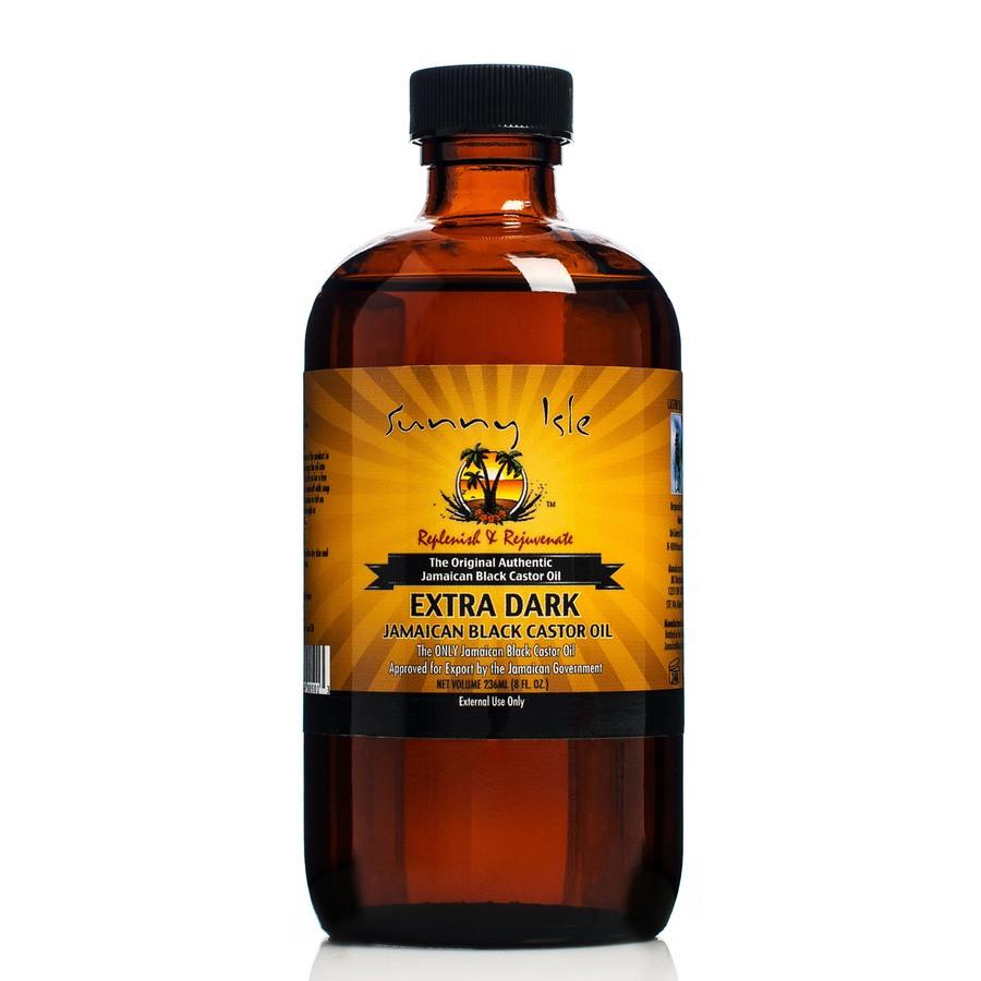Sunny Isle Jamaican Black Castor Oil Rizinusöl (236ml), Extra Dark