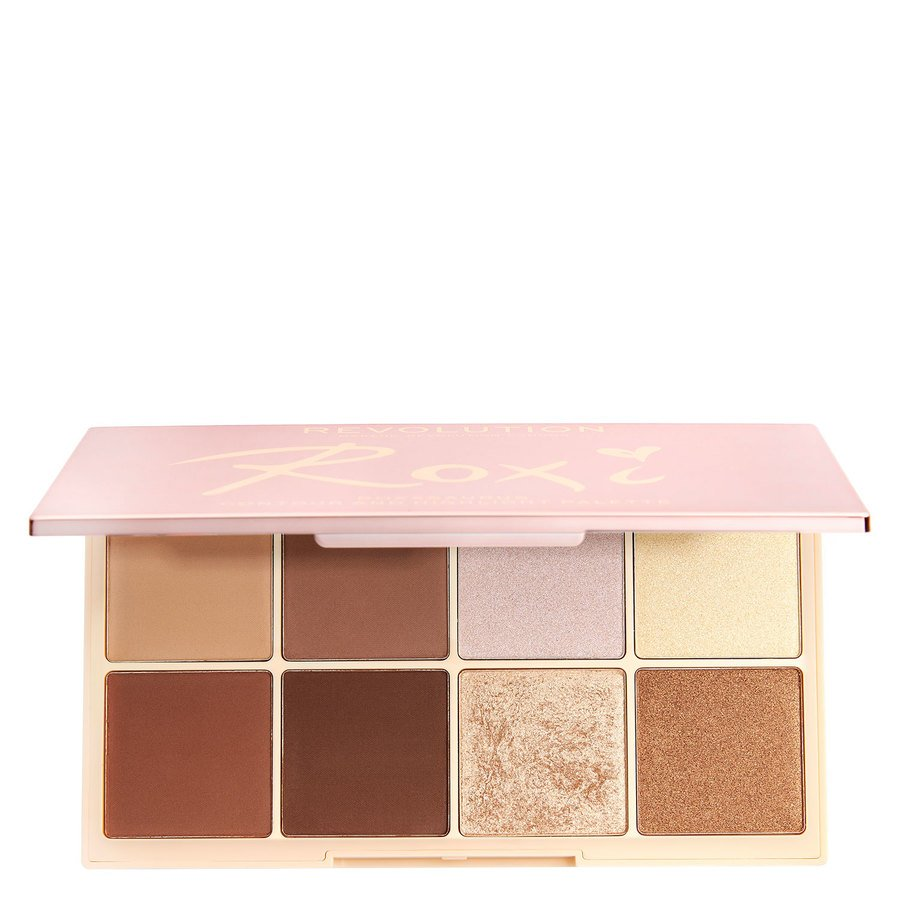 Makeup Revolution X Roxi Palette Highlight & Contour Shadow (8 x 2,5 g)