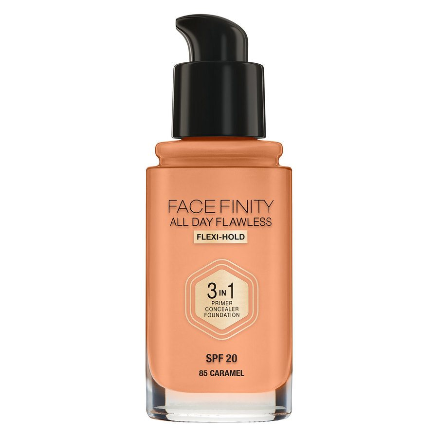 Max Factor Facefinity 3 In 1 Foundation, 85 Caramel (30 ml)
